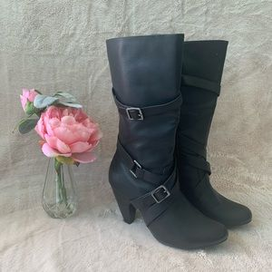 Over Calf Boots